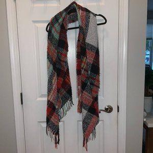 American Eagle plush oversized scarf